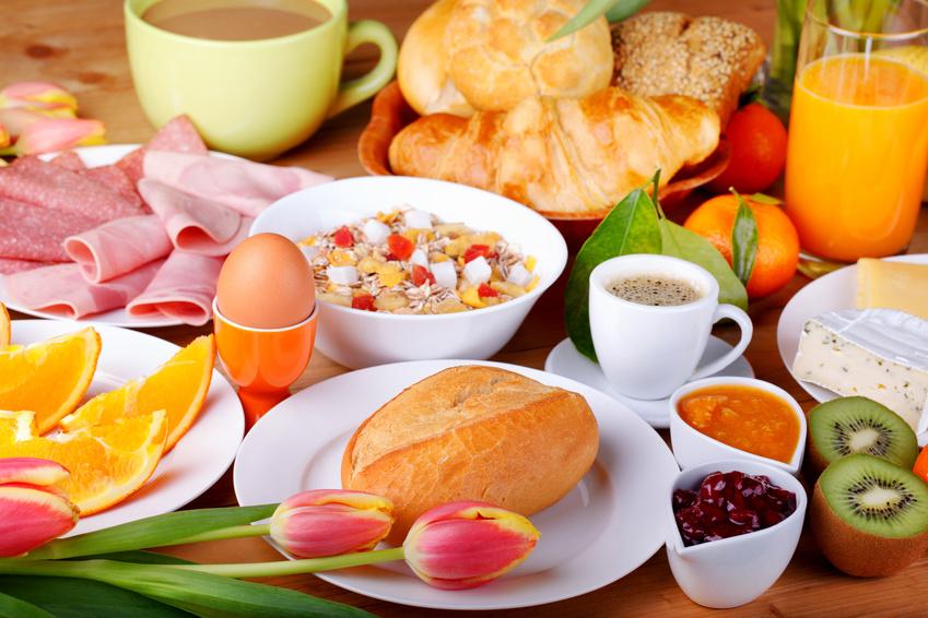 Ferienwohnung Hannweber Leckeres Frühstück